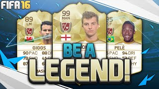 FIFA 16 ULTIMATE TEAM 'BE A LEGEND'| FIFA 16 ULTIMATE TEAM RTG #01