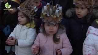 Crianças animaram Centro Histórico em mais uma edição das Reisadas