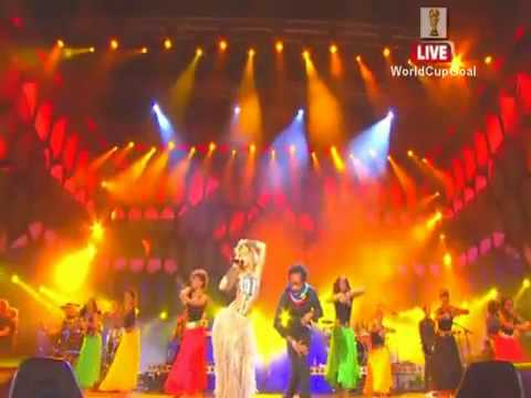 Shakira -  Hips Don't Lie - FIFA™ World Cup 2010 Celebration (HQ)
