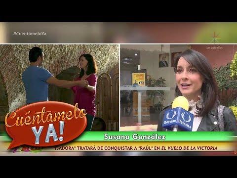 Susana González no tiene tiempo para casarse | Cuéntamelo YA!