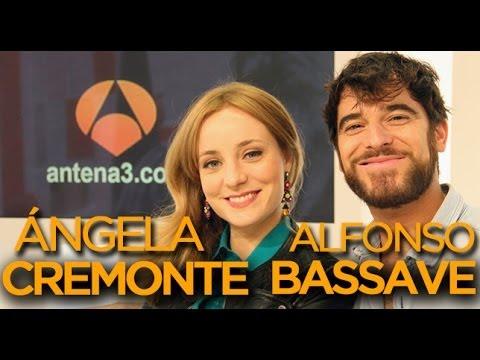 Ángela Cremonte y Alfonso Bassave de Amar es para siempre  VIDEOENCUENTROS