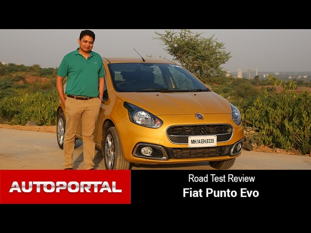 Fiat Punto Evo Test Drive Review - Autoportal