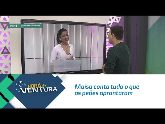 """Maísa conta tudo o que os peões aprontaram em """" A Fazenda"""" - Bloco 02"""