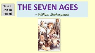Seven Ages - Explanation in Hindi Class 9 English CBSE NCERT