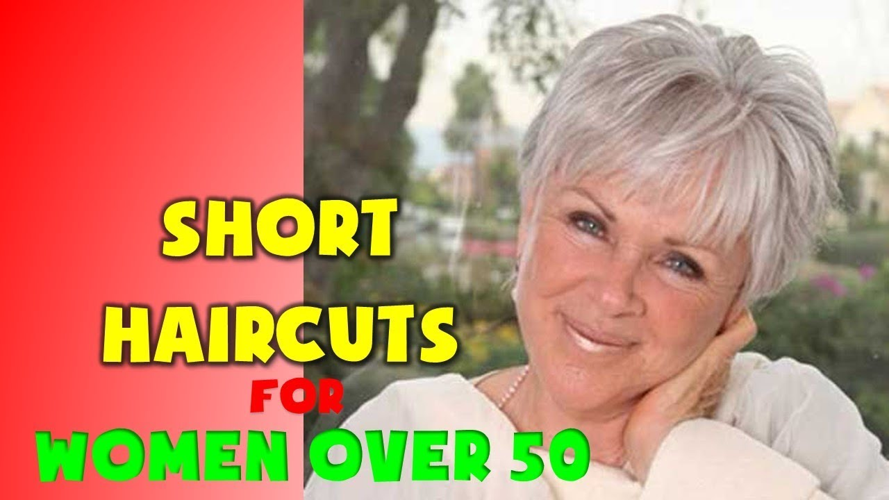 30+ BEST Short Haircuts for Women Over 50 - YouTube