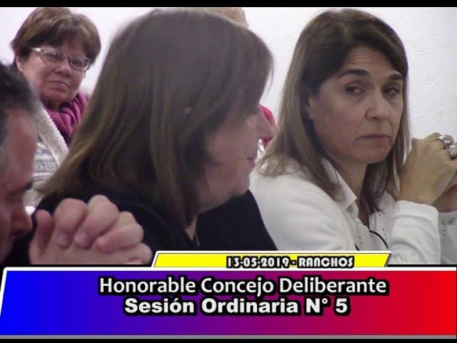 H.C.D. de General Paz - Sesión Ordinaria 5 /2019