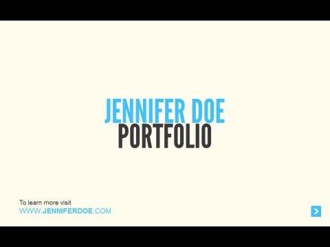 PowerPoint - Business Portfolio Sample - YouTube