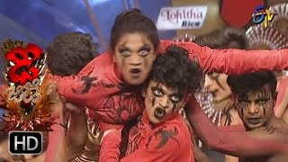 Sanketh and Priyanka Performance  Dhee Jodi  3rd May 2017  ETV Telugu