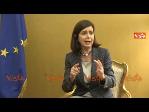 """RAI, Boldrini: """"Lista donne dell'Est inaccettabile, il programma della Perego andava chiuso"""""""