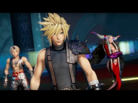 Download Youtube: Dissidia Final Fantasy NT - Character Roster Trailer