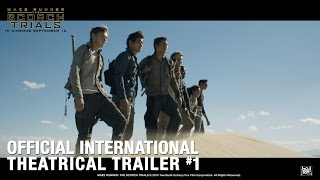 Maze Runner: The Scorch Trials [Official International Theatrical Trailer #1 In HD (1080p)]R