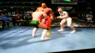 Legends of wrestling - michael von erich vs hulk hogan