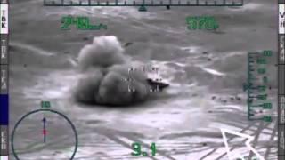 Уникальное видео: боевое применение ПТУР вертолетом Ми-28Н по террористам ИГИЛ в р-не ПАЛЬМИРА(Unique video: Mi-28N launches guided antitank missile against ISIS objects near Palmyra., 2016-03-31T10:14:05.000Z)