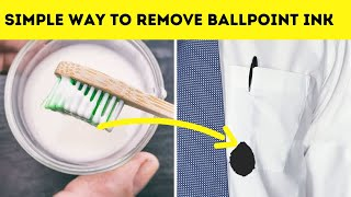 How do i reṁove ballpoint ink from clothes? - Simple Way to Remove it