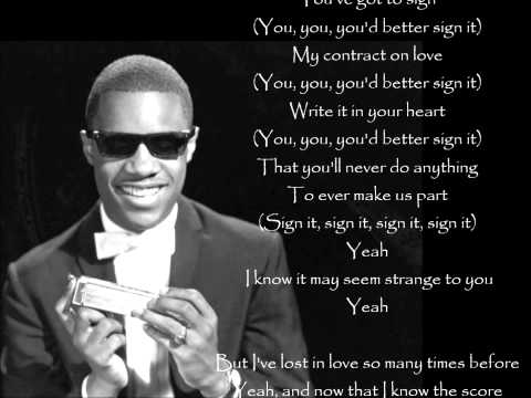 Contract On Love *** Stevie Wonder
