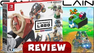 Nintendo Labo: Vehicle Kit REVIEW - Labo Goes Open-World!