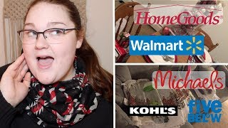 Massive Black Friday Haul! | Walmart, Michaels, HomeGoods, Kohls, + More!
