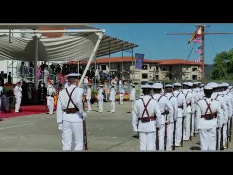 Jura de Bandera y entrega de Reales Despachos en Marín