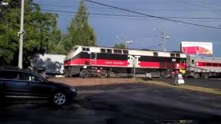 Norwalk Railfanning, Metro-North Danbury Branch: September 13, 2013
