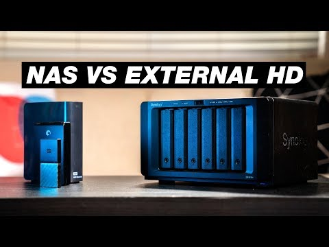 What is a NAS Drive? (External Hard Drive VS. NAS Explained)