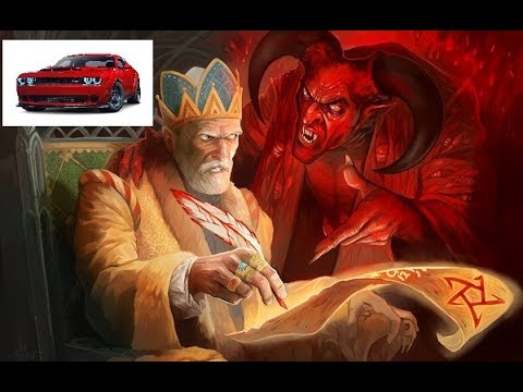 THE DODGE DEMON CONTRACT: SIGNING YOUR SOUL OVER TO DODGE