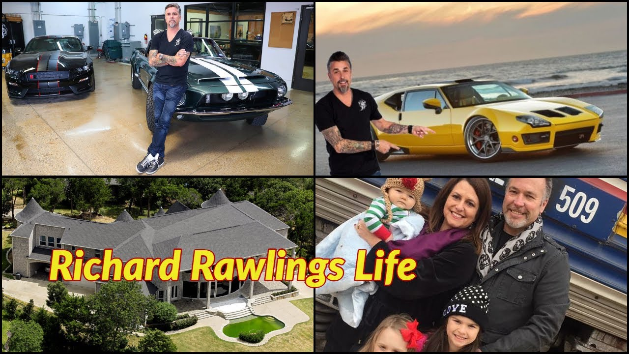 Richard Rawlings Life Wife Kids House Porsche Age