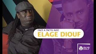 """Elage Diouf : """"j'écoute pas Wally Seck même si je suis fier de lui"""""""