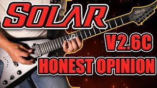 Solar V2.6C Guitar Review - Jesse Billson | HGHR