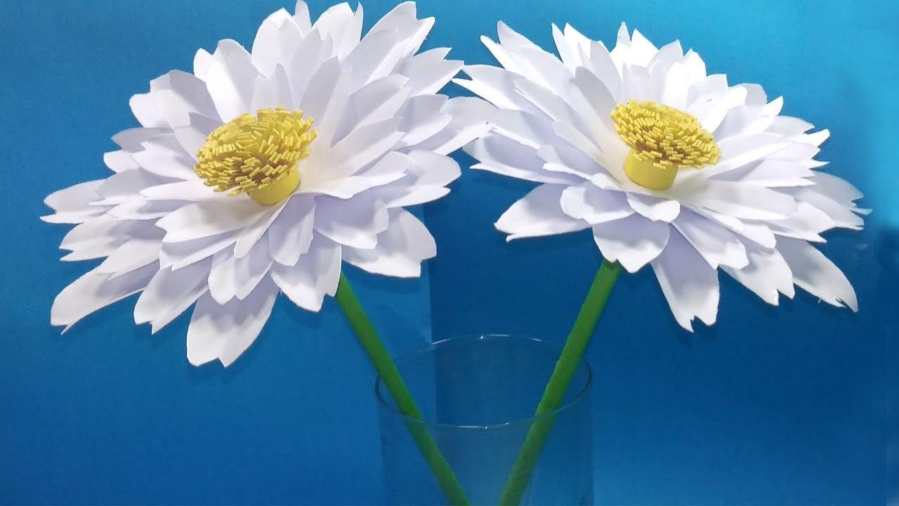Panduan Mudah Cara Membuat Bunga Kertas