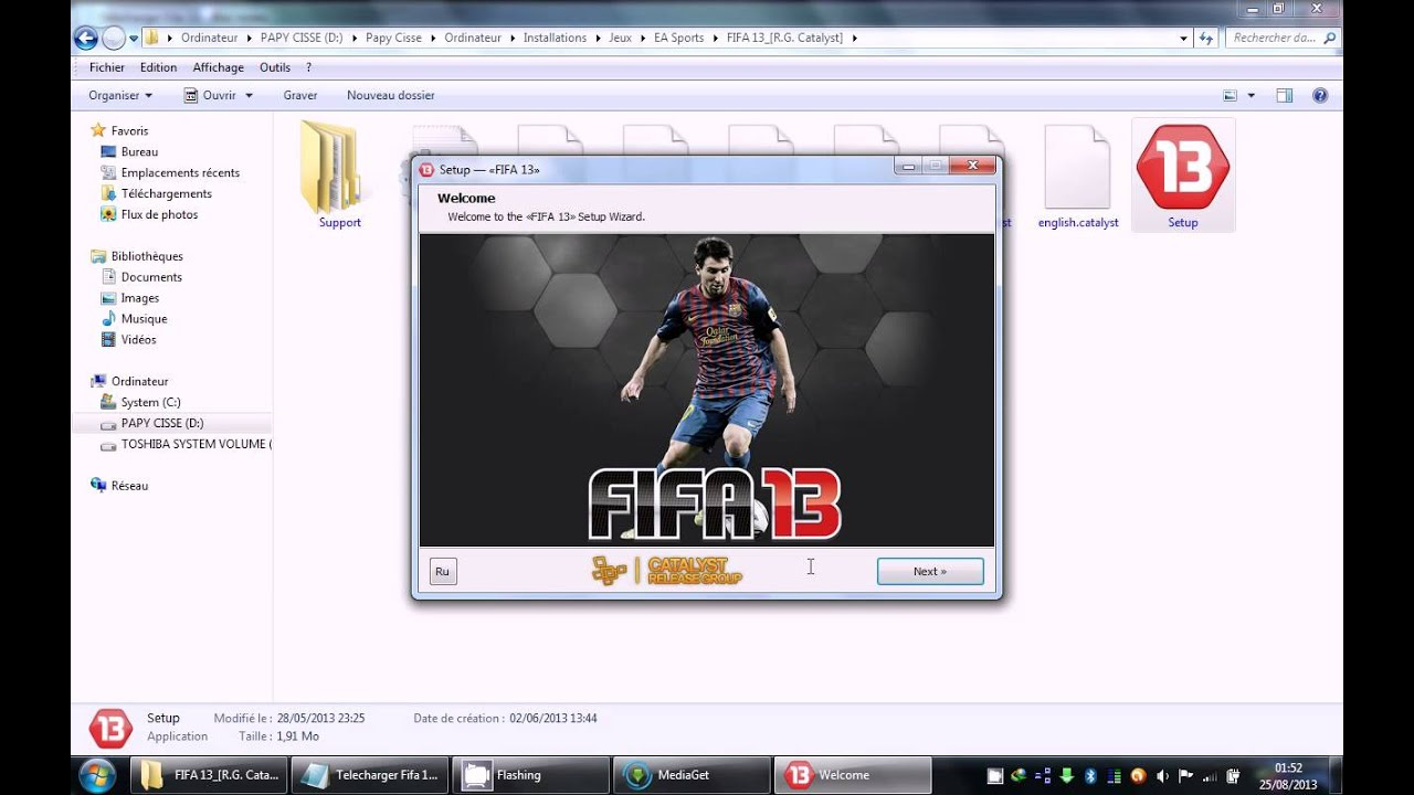 comment telecharger et installer fifa 13 full pc gratuit. Black Bedroom Furniture Sets. Home Design Ideas