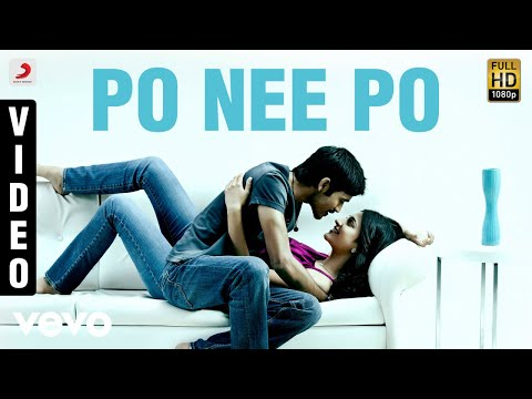 3 Po Nee Po Video  Dhanush, Shruti  Anirudh