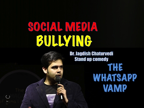 Social media bullying- Dr. Jagdish Chaturvedi: Stand up comedy India