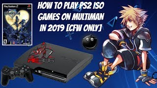 How To Play PS2 ISO Games On Multiman/WebMan In 2019 [CFW ONLY] + Install Box-Art, 4GB+ Games, FTP