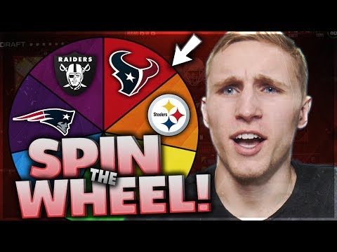 SPIN THE WHEEL OF AFC TEAMS! Madden 17