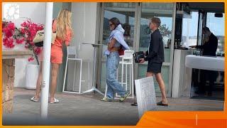 Lil' Kleine en Jaimie Vaes samen gespot op Ibiza na vermeende mishandeling