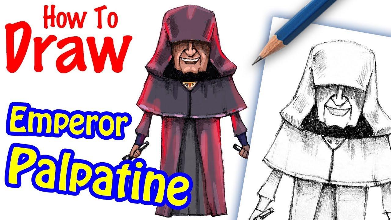 How To Draw Palpatine