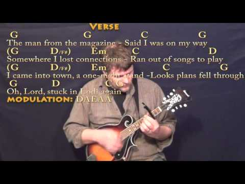 Chordsound  Chords Texts  Lodi CREEDENCE CLEARWATER REVIVAL