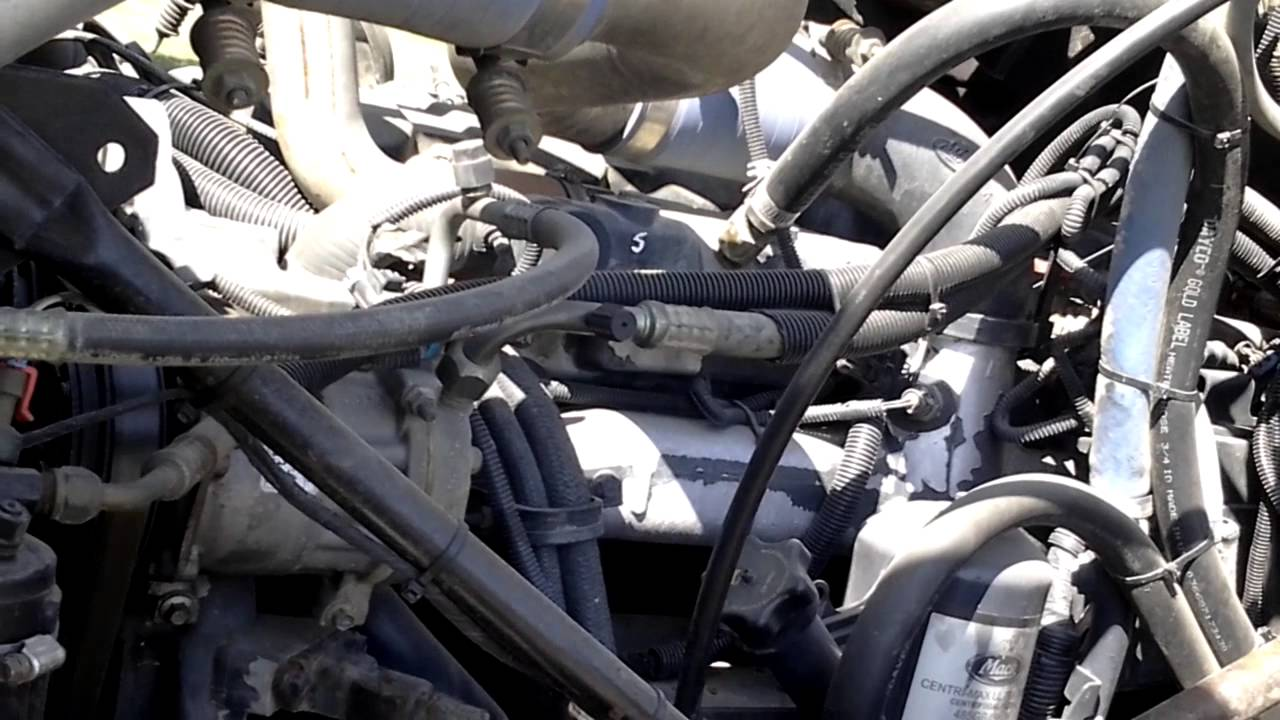 2005 mack granite cv713 youtube rh youtube com 2006 mack truck wiring diagrams mack truck wiring schematic [ 1280 x 720 Pixel ]
