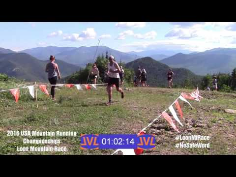 2016 Loon Mountain Race - Raw Finish Line Footage Men's Race