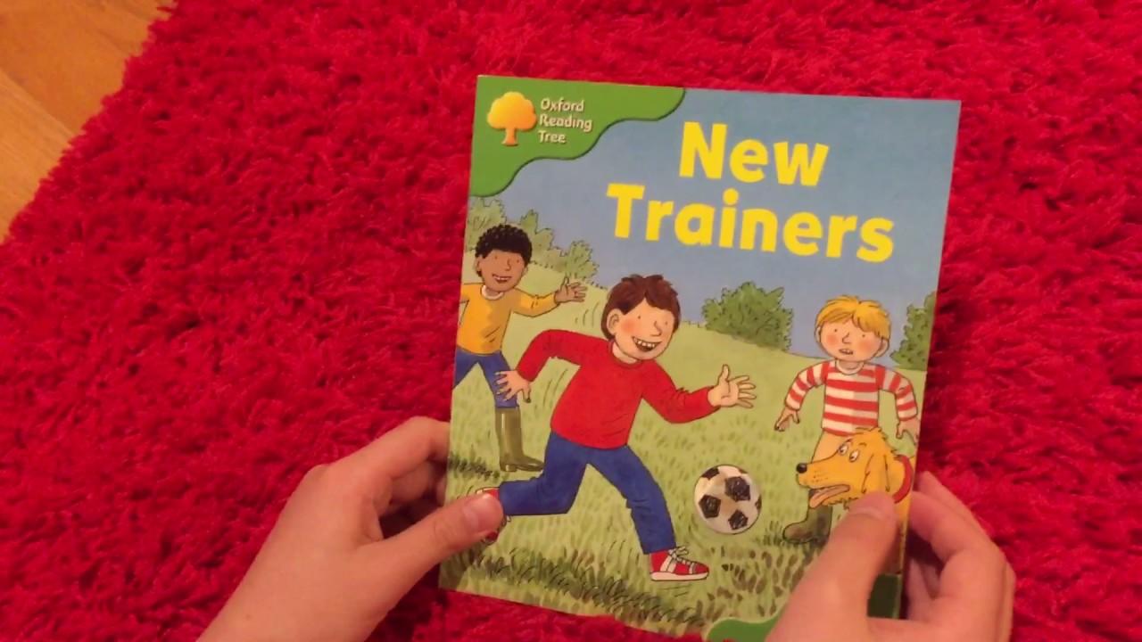 2【多読】 ORT Stage 2 New Trainers - YouTube