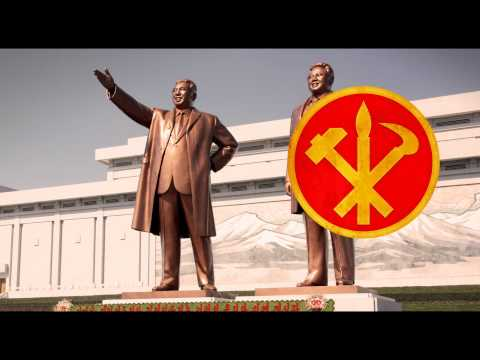 "DPRK Long Live The Workers Party Of Korea ""긴 조선 로동당 만세!"""