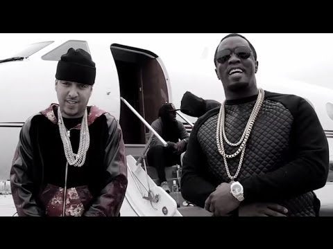 "French Montana ""Paranoid"" Remix Ft. Rick Ross, Diddy, Lil Durk & Jadakiss (Official Music Video)"