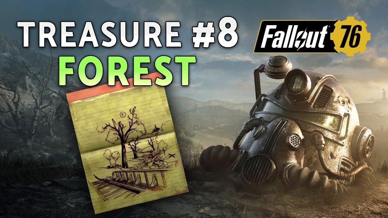 Fallout 76 | FOREST Treasure Map #8 + Treasure Location ...