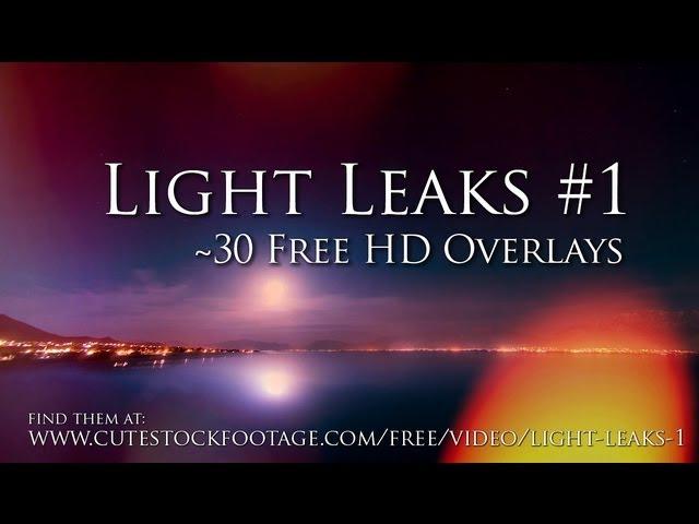 30 HD Light Leaks for free download - Videomaker