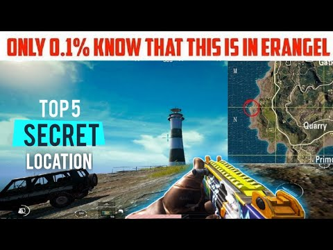 Top 5 Secret Location In Pubg Mobile | Best Loot Location | Pubg Tips Tricks from YouTube · Duration:  10 minutes 2 seconds