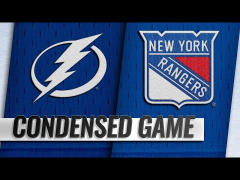 02/27/19 Condensed Game: Lightning @ Rangers