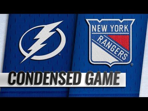 02/27/19 Condensed Game: Lightning @ Rangers