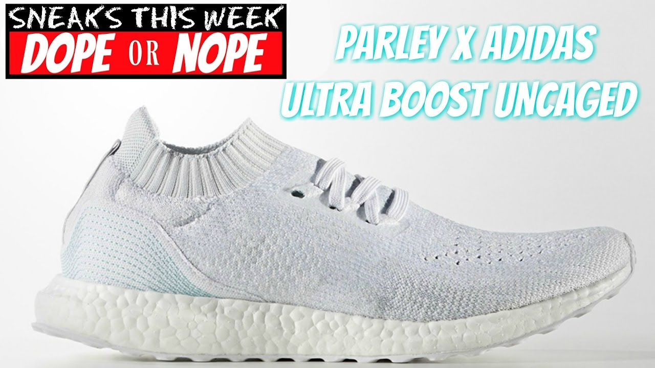 Parley X Adidas Ultra Boost Uncaged - YouTube 68f2dccb1