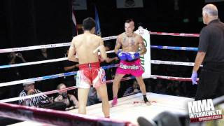 Kevin Ross vs Sakkedao Petchpayathai at M-One Grand Muay Thai Fights