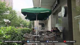 Coffee culture is growing in China